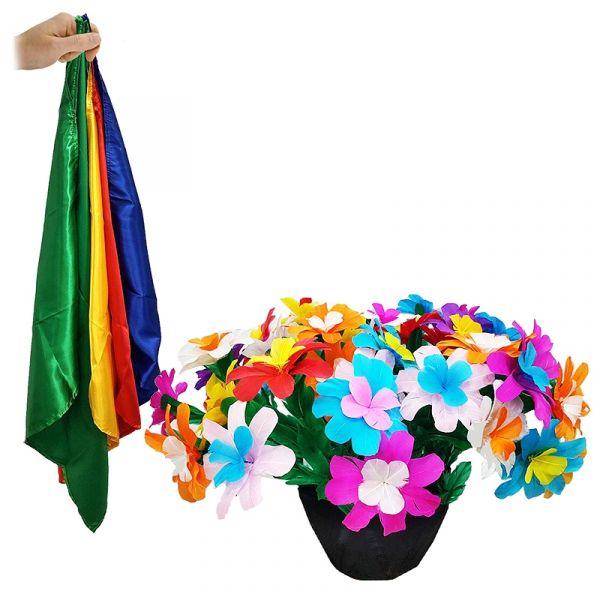 Tora Appearing Flower Pot from Silks