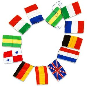Sitta Flags - String of 12