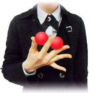 Split Magnet Mirage Ball by JL - 1.7  - Red