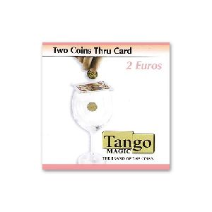 Two coins thru card - 2 Euro